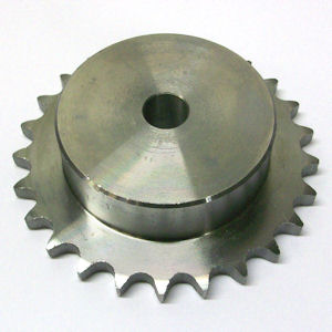 6SR22 Simplex Sprocket, Pilot Bore
